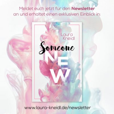 EXKLUSIVE Someone New: Leseprobe und Illustration im Newsletter